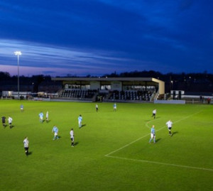 floodlit pitch