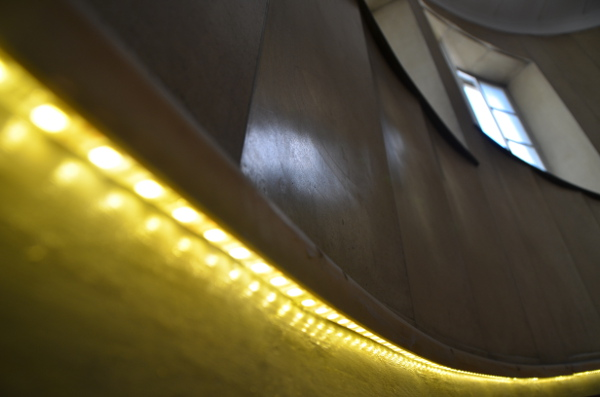 Blog Lighting The Spiral Staircase At Heals Department