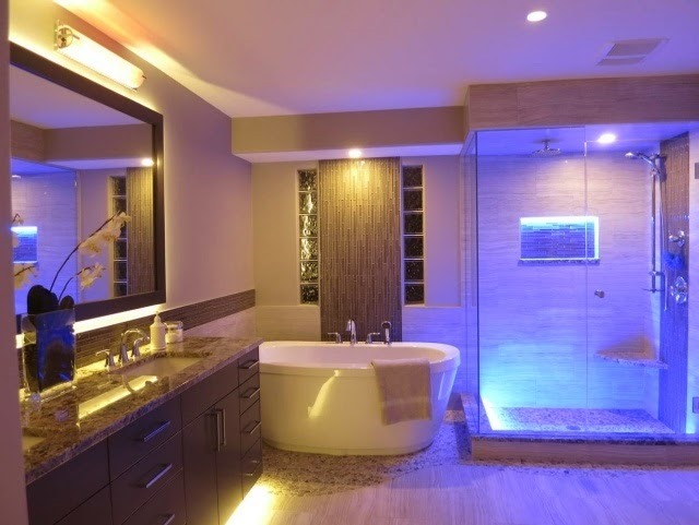 Bathroom Lighting Led Strips blog : where can i use led strips? : slb blog