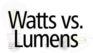 Lumens vs. Watts1